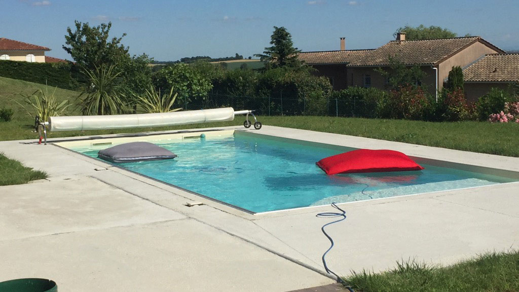 Construction de piscine traditionnelle